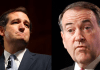 Mike Huckabee Ted Cruz