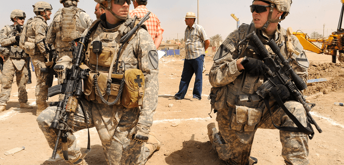 US Army military