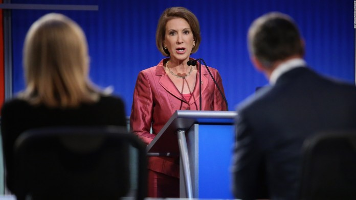 Carly Fiorina Debate