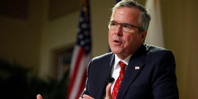 Jeb Bush talking