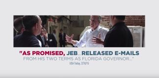 jeb bush transparency ad