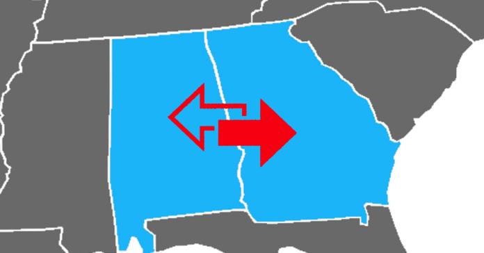 Alabama Georgia health exchange