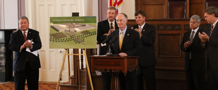Governor Bentley Announces GE Aviation