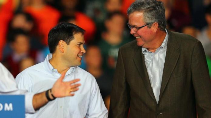 Jeb Bush and Marco Rubio_debate