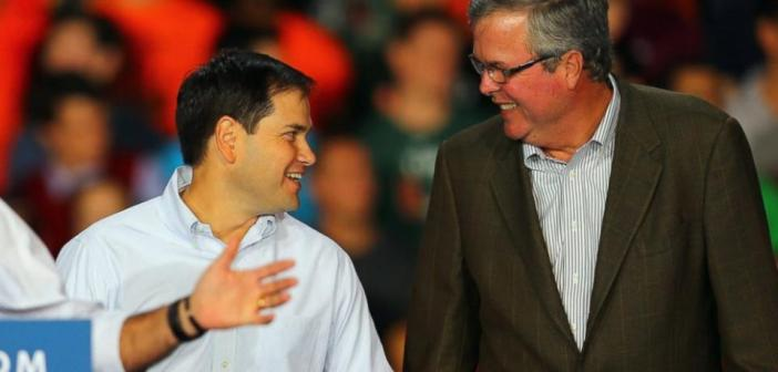 Jeb Bush and Marco Rubio_debate