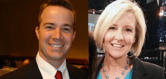 Rick Barber and Becky Gerritson