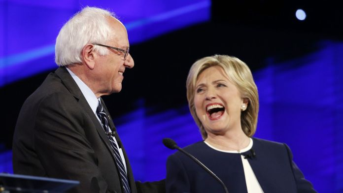 democratic debate Bernie Sanders and Hillary Clinton