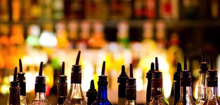 ABC store bar bottles of liquor