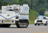 Calhoun County armored vehicle