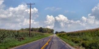 Rural America highway