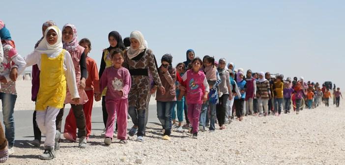 Syrian refugees crisis