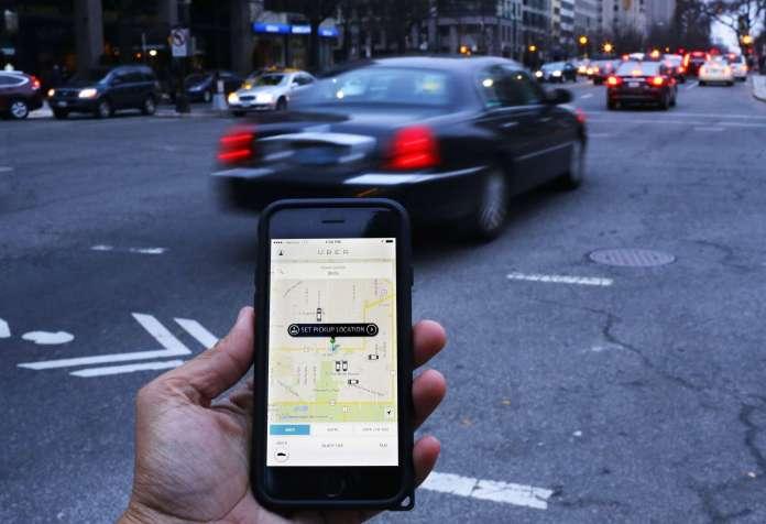 Uber ridesharing