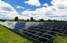 solar panel fields climate change