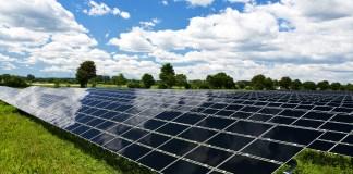 solar panel fields climate change