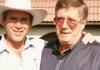 Johnny Williams with George W Bush