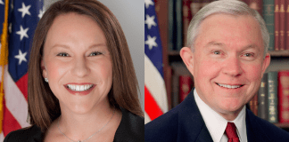 Martha Roby and Jeff Sessions