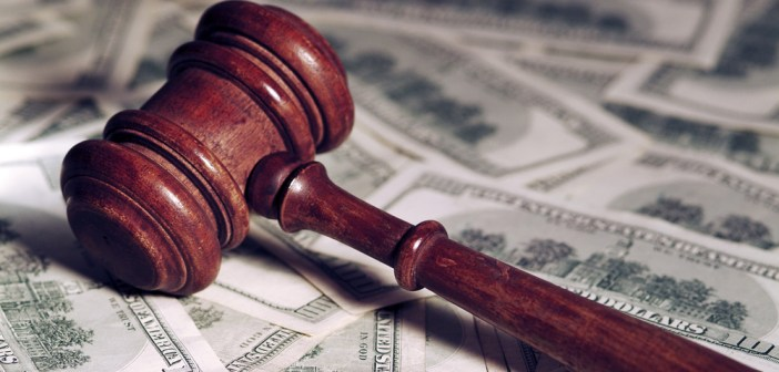 money gavel court lawsuit