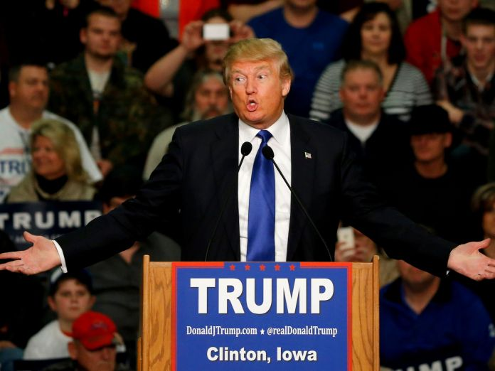 Donald Trump in Iowa