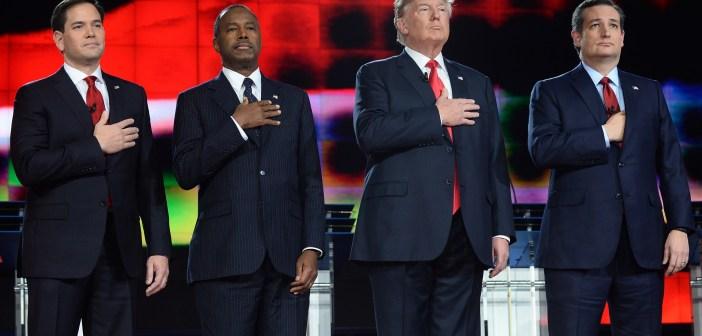 Trump Carson Cruz Rubio