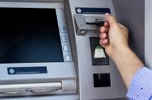atm machine at bank