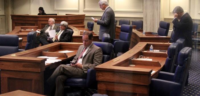 Alabama Senate empty chamber_3 March 2016