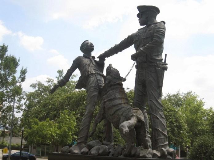 Kelly Ingram Park in Birmingham_Civil Rights