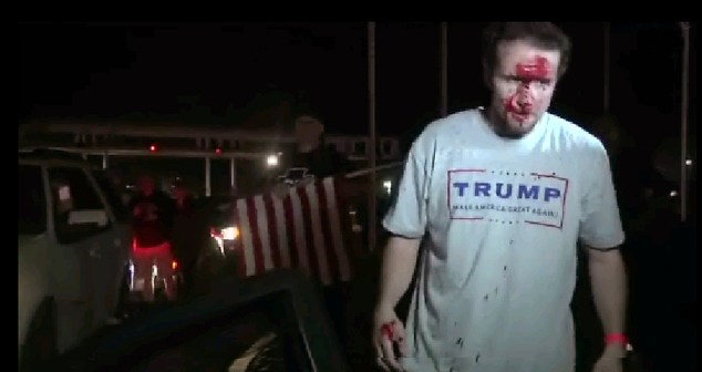 Trump Rally-Protests