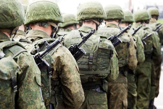 soldier troop military