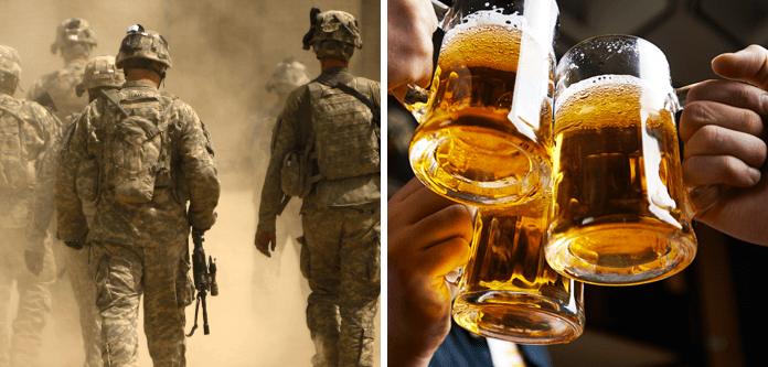Military and alcohol