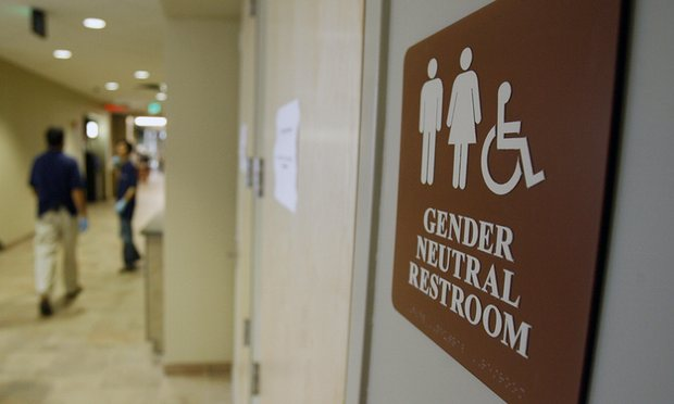 gender neutral restroom bathroom
