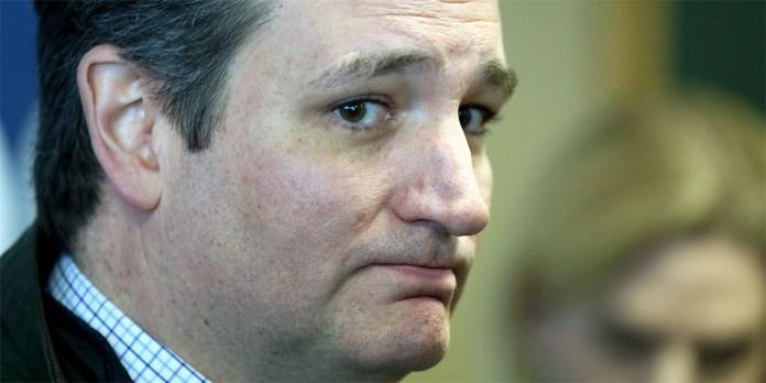 sad Ted Cruz