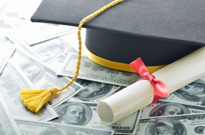 student graduation money debt