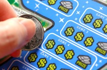 lottery scratch ticket