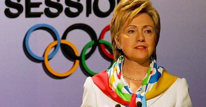 Hillary Clinton Olympics