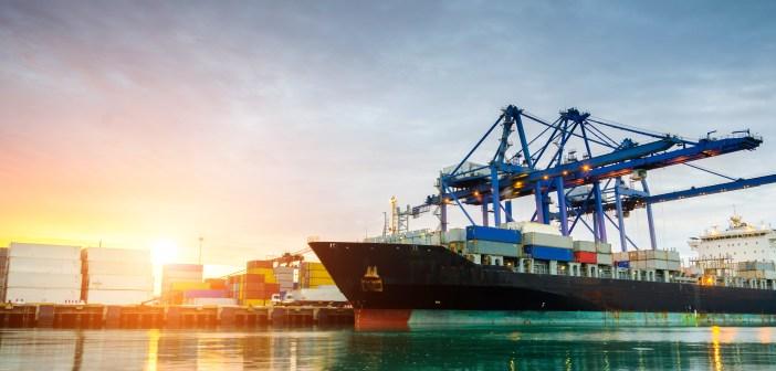 shipping port maritime shipyard