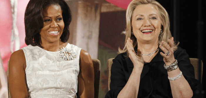 michelle-obama-and-hillary-clinton