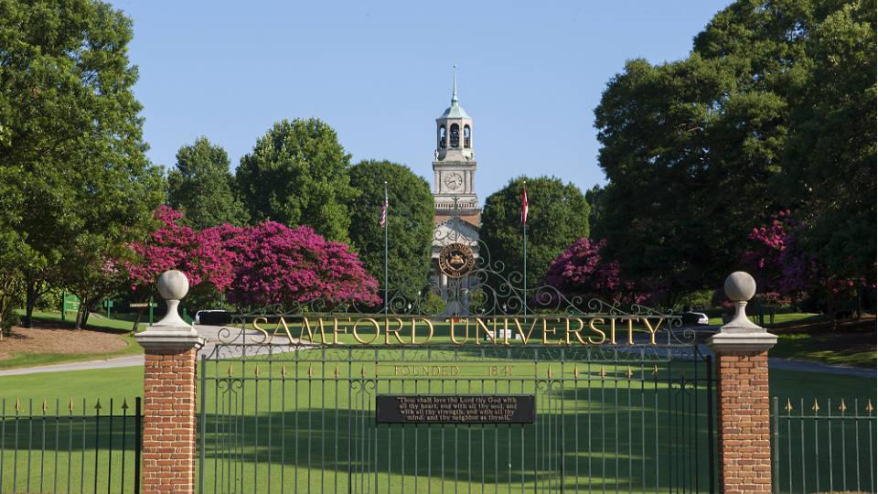 Samford Ranked Top Alabama University By Wall Street Journal