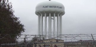 flint-michigan-water-tower