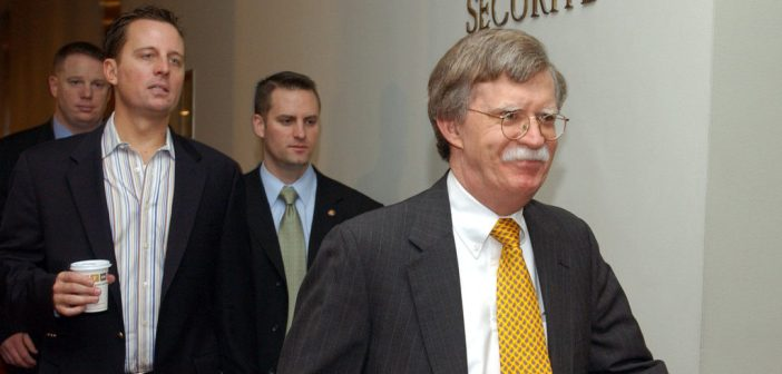 john-bolton and Richard Grenell