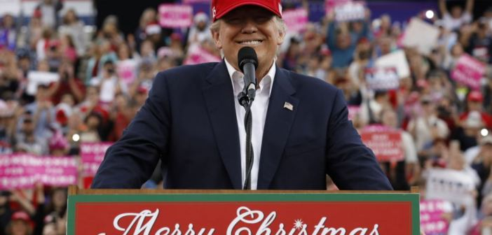 Donald Trump Mobile rally Dec 2016