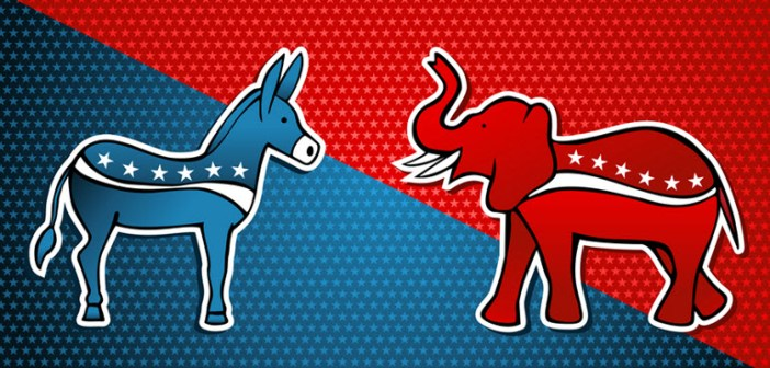 Red State Elephant Blue State Donkey