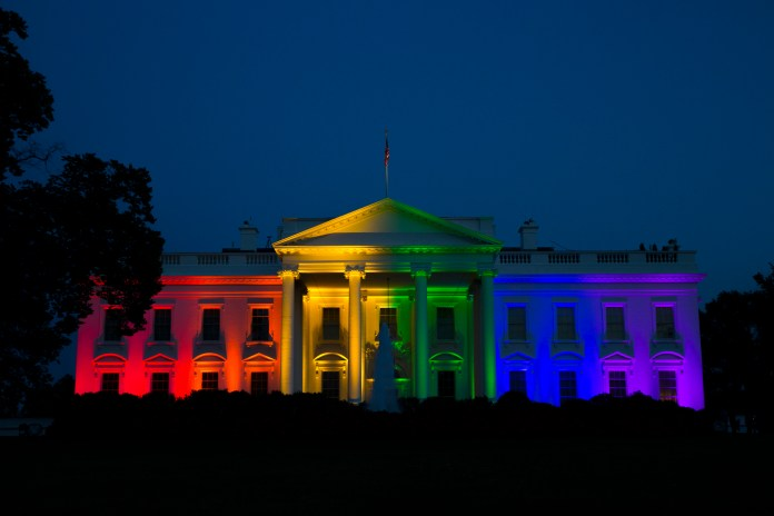 White House gay marriage LGBTQ