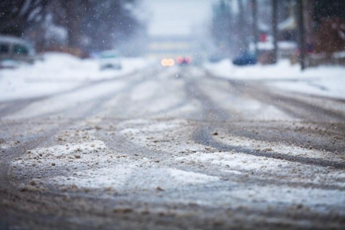 winter snow roads