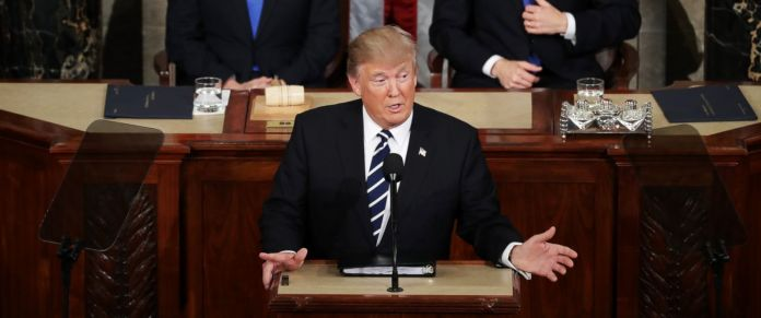 Donald Trump joint session of Congress