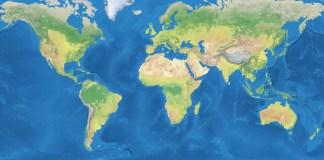 globe world map