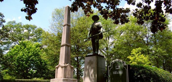 Confederate Memorial in Linn Park