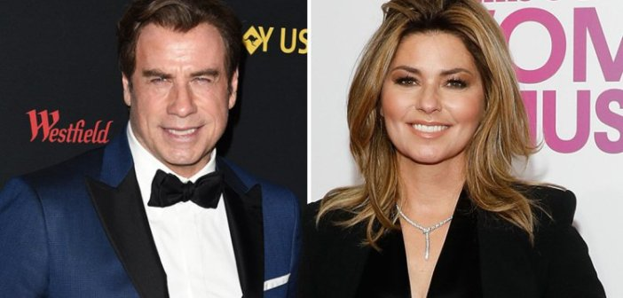 John Travolta and Shania Twain