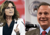 Sarah Palin and Roy Moore