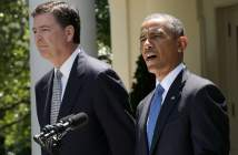 James Comey and Barack Obama