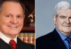 Newt Gingrich and Roy Moore